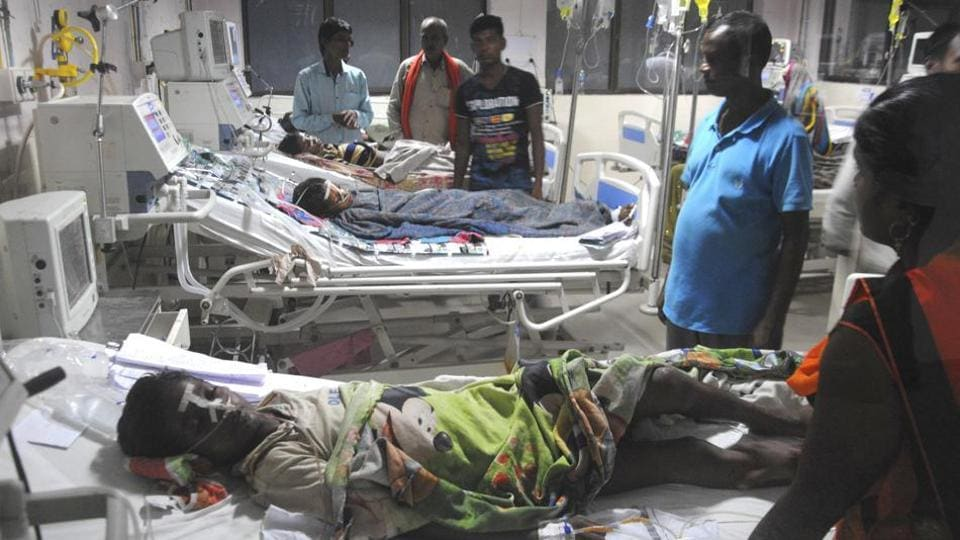 Over 30 children had died at BRD Medical College in Gorakhpur — which is represented by chief minister Yogi Adityanath in Lok Sabha — in 48 hours (August 9-11) allegedly due to lack of oxygen supply.