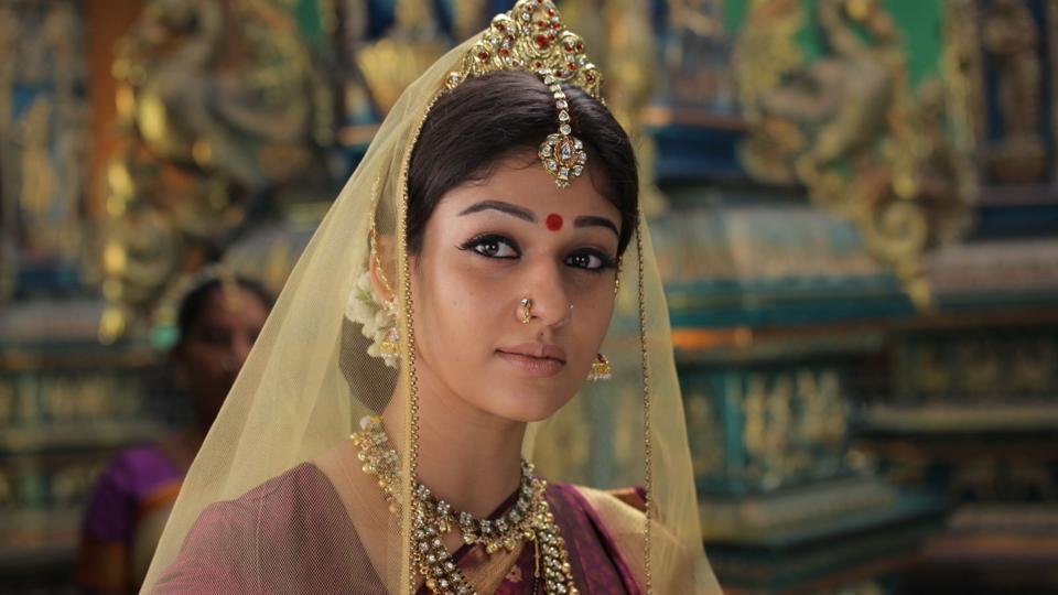 Nayanthara as Sita in Sri Rama Rajyam.