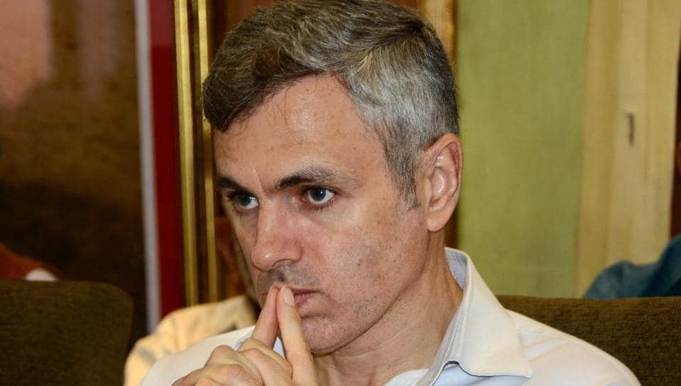 Omar Abdullah, former J&Kchief minister and National Conference working president.