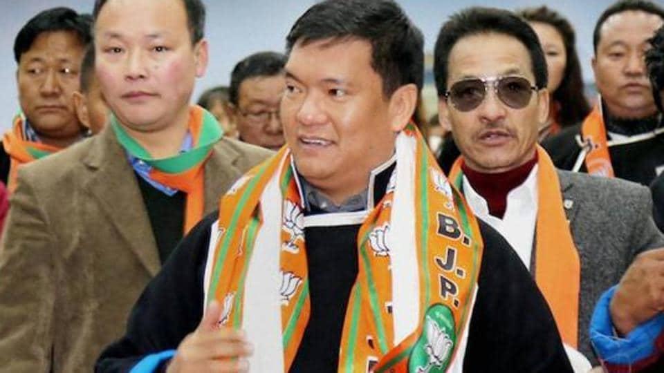 Chief Minister of Arunachal Pradesh Pema Khandu