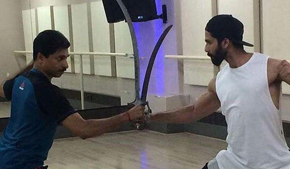 Shahid Kapoor,Padmavati,Shahid Kapoor leaked pics