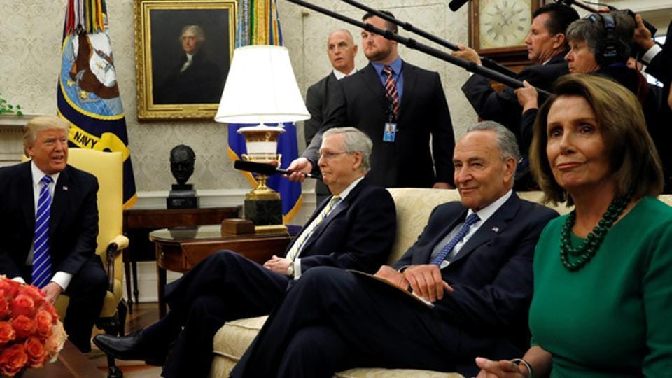 Donald Trump,Nancy Pelosi,Mitch McConnell