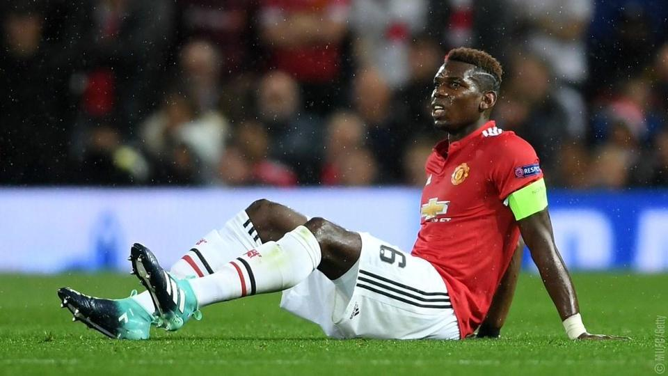 Paul Pogba suffered a hamstring injury during Manchester United's Champions League win over Basel last week.