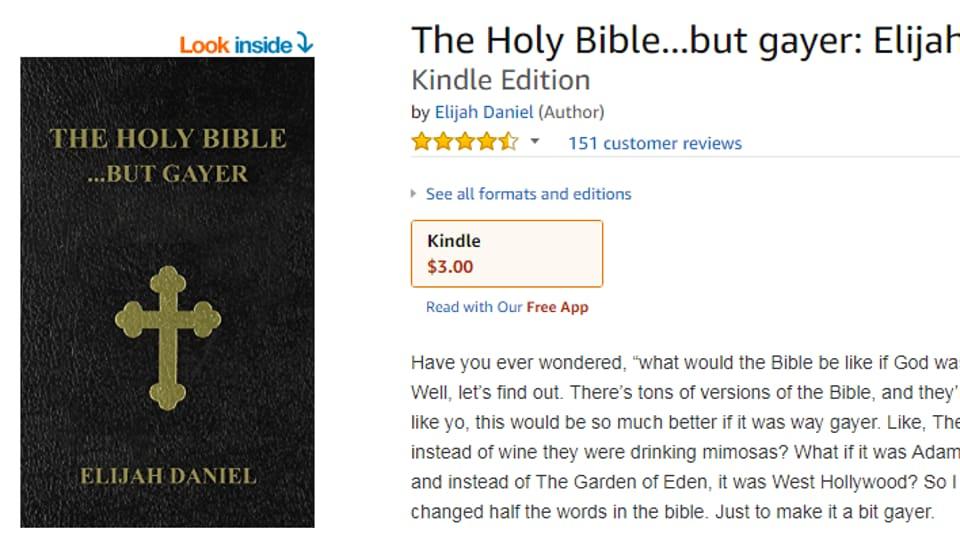 The Holy Bible,Gay Holy Bible,Rihanna