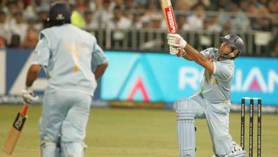Yuvraj Singh is the first Indian and second overall to hit six 6s in an over in international cricket.  In the ICC World T20 in South Africa in 2007, Yuvraj smashed Stuart Broad all over the park at Kingsmead, Durban.