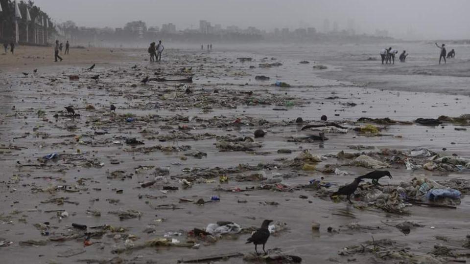 Mumbai news,versova beach,garbage
