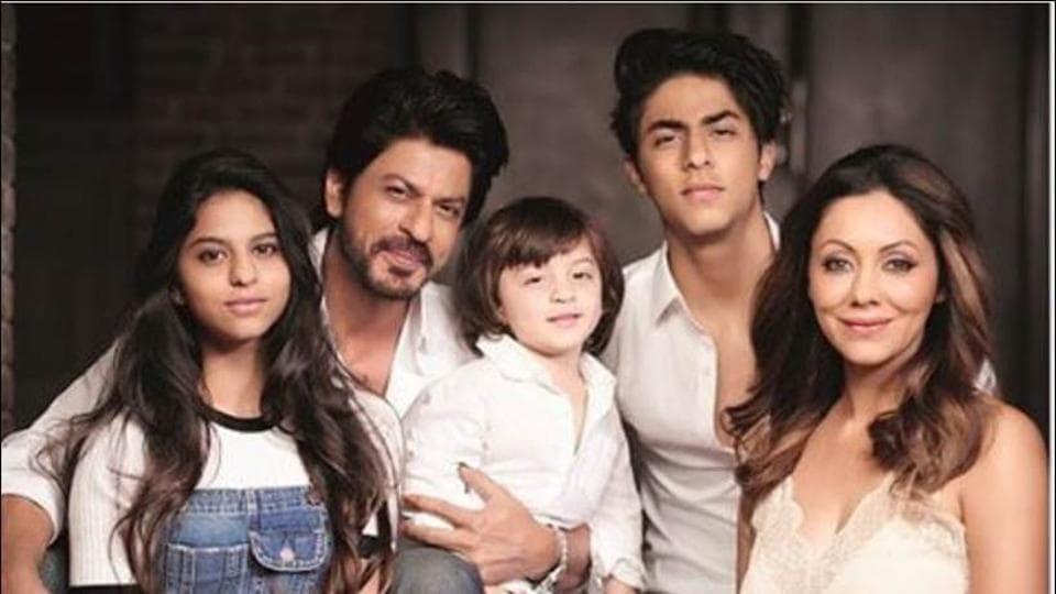 Shah Rukh Khan is daddy to Aryan Khan, Suhana Khan and AbRam Khan.
