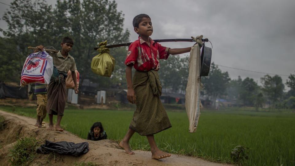 Mizoram,Myanmar,Rohingya People