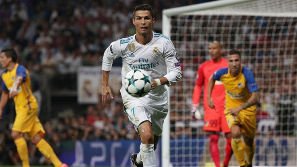 Cristiano Ronaldo struck twice for Real Madrid C.F. in his only appearance since the ban, in a comfortable 3-0 win over Apoel Nicosia, in the Champions League last Wednesday.