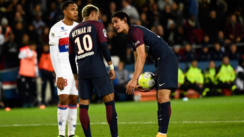 Neymar,Edinson Cavani,Paris Saint-Germain