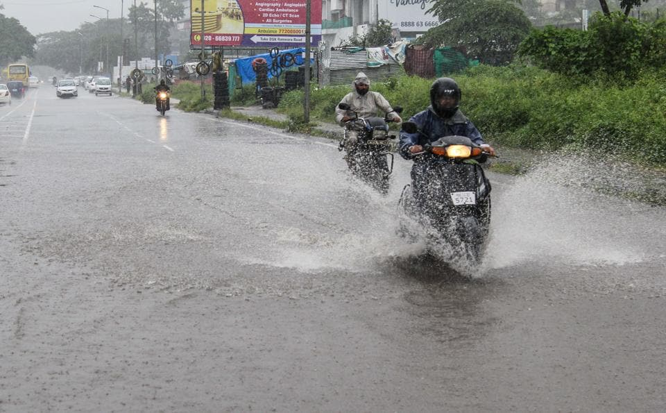 The weather department has predicted more rains in the city and district on September 20.