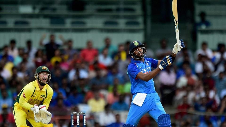 Hardik Pandya smashed three sixes in one over from Adam Zampa to change the momentum in the Chennai ODI between India and Australia as Virat Kohli's side continued their dominant run.