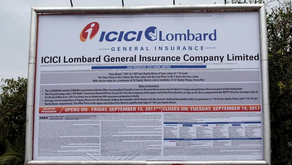 ICICI Lombard IPO oversubscribed