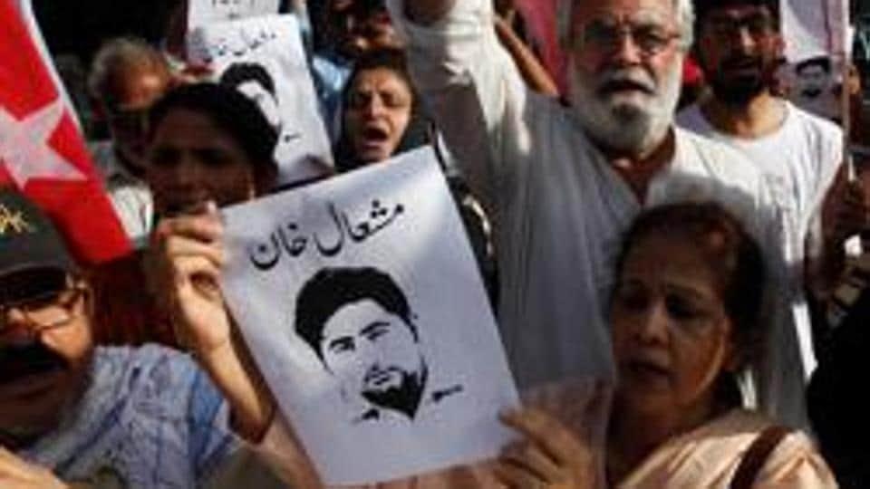 Mashal Khan,lynching of Pakistani university student,blasphemy in Pakistan