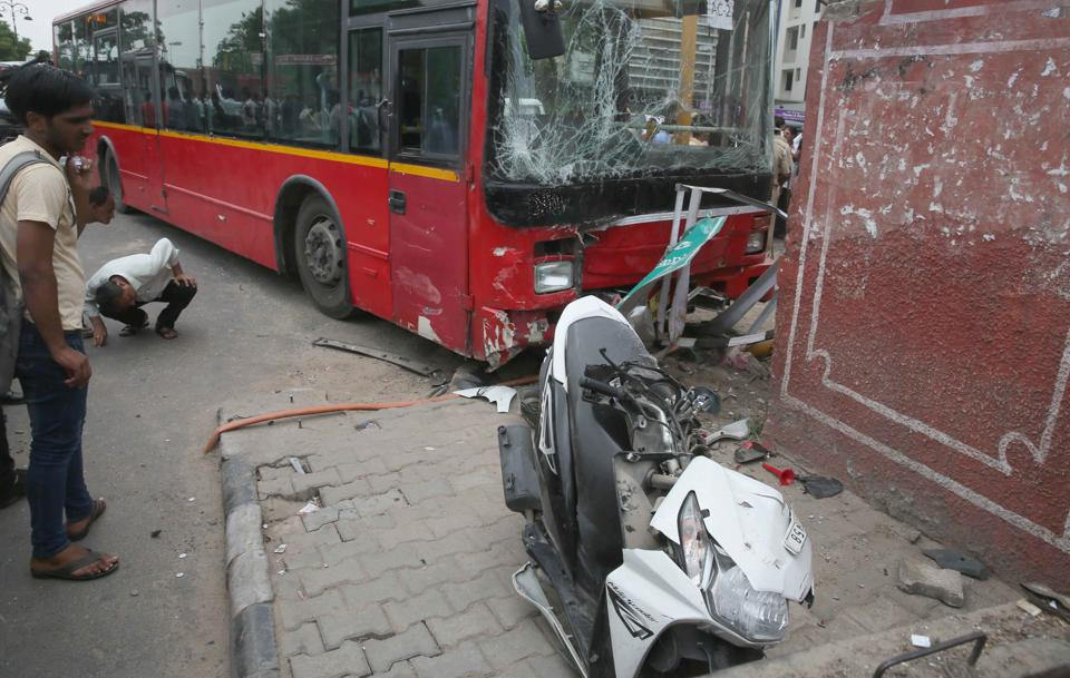 Rajasthan news,low-floor bus,road accidents