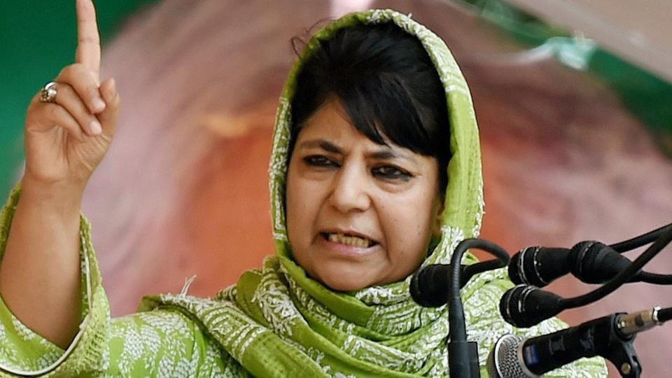 Jammu and Kashmir chief minister and PDP president Mehbooba Mufti Mehbooba, who was addressing a meeting in Karnah area of north Kashmir's Kupwara district, said the recent skirmishes along the border area has led many people to migrate.