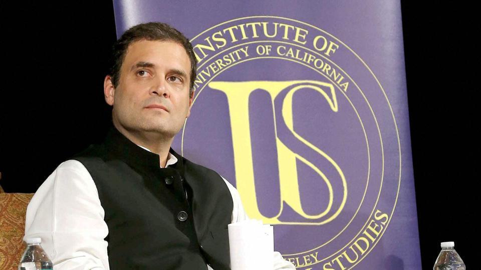 Rahul Gandhi,Rahul Gandhi US visit,Rahul Gandhi speech