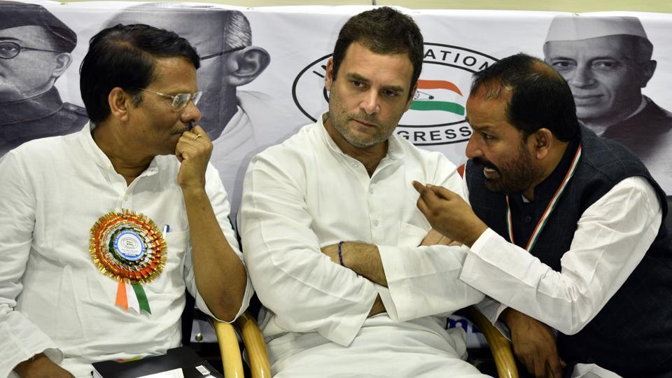 Congress vice president Rahul Gandhi will visit Gujarat as part of his election campaign.