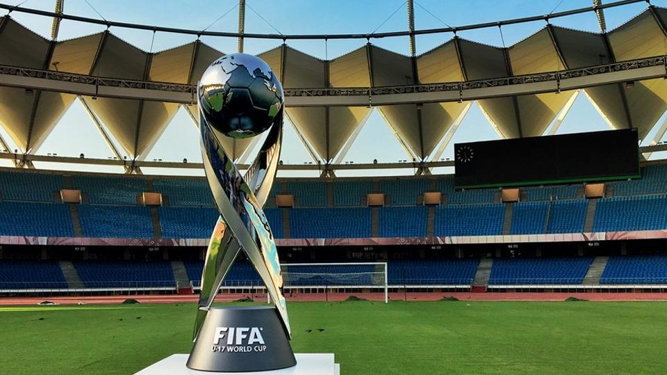 The FIFA U-17 World Cup trophy was designed and manufactured in 2004 and Mexico were the first team to hold the 4.6kg trophy.