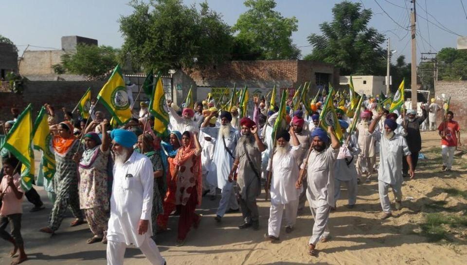 Farmer protest,Punjab farmers,Punjab news