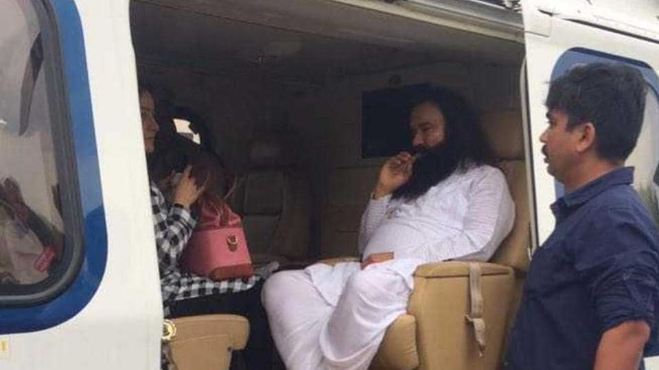 Dera Sacha Sauda chief Gurmeet Ram Rahim is currently lodged in Rohtak's Sonaria jail.