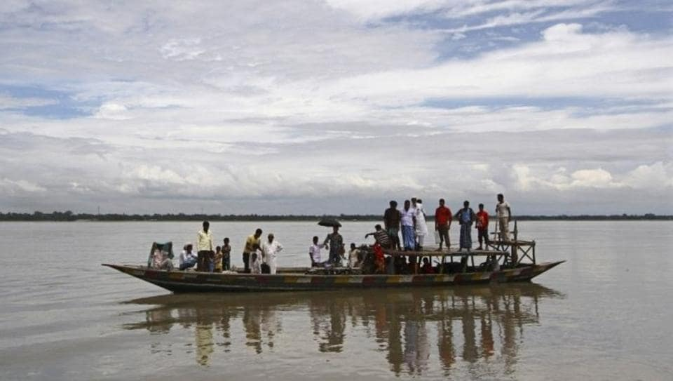 The nearly 3,800 kms long river, one of the longest in the world, traverses three countries to empty itself in the Bay of Bengal.
