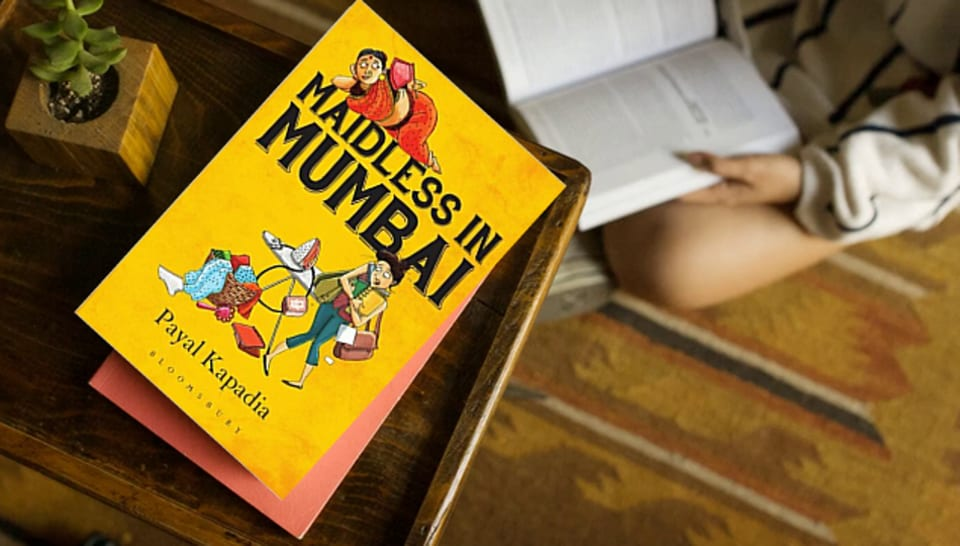 The cover of author Payal Kapadia's Maidless in Mumbai.