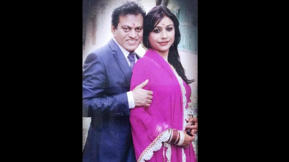 Dr Amit Kumar and Bulbul Kataria, a former beauty queen from Chandigarh, got married in March 2014.