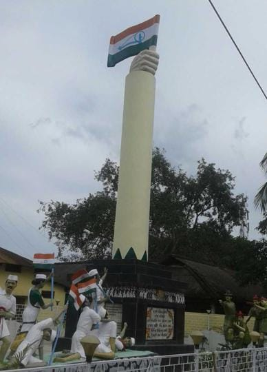 Dhekiajuli memorial was started in 1971 and unveiled in 1975. The Assam government on Wednesday decided to give a one-time financial package to the survivors of the 13 Dhekiajuli martyrs besides naming as many streets after each of them.