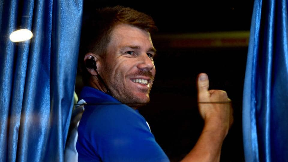 David Warner is in Kolkata with the Australian cricket team for the second ODI against India.