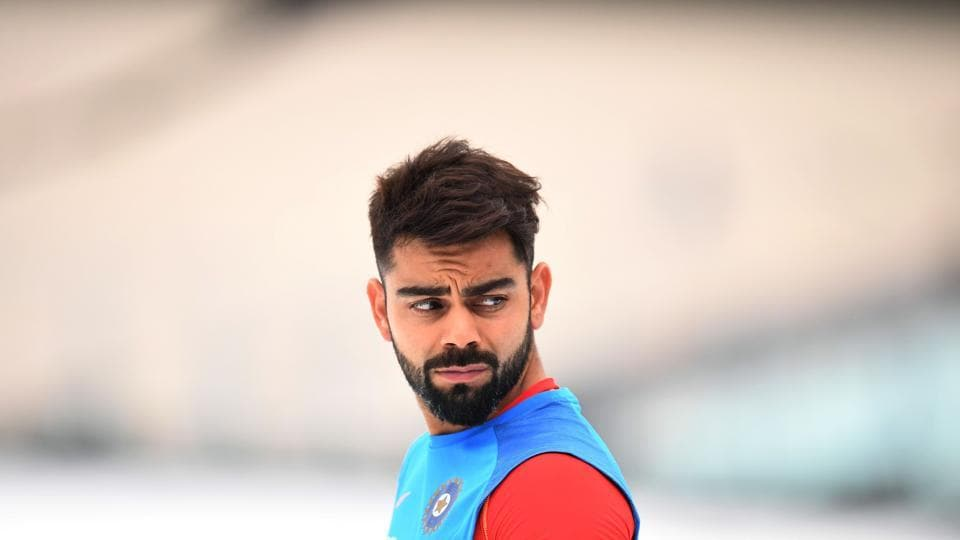 Virat Kohli and the Indian cricket team decided to have a short football practice session. (AFP)