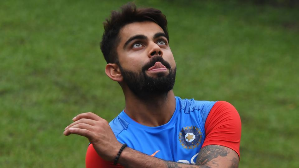 Virat Kohli and the Indian cricket team will be hoping that the rain stays away as India aim to take a 2-0 lead in the series.  (AFP)