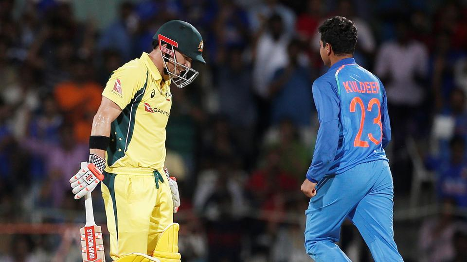 Kuldeep hat-trick sets up India's win against Australia