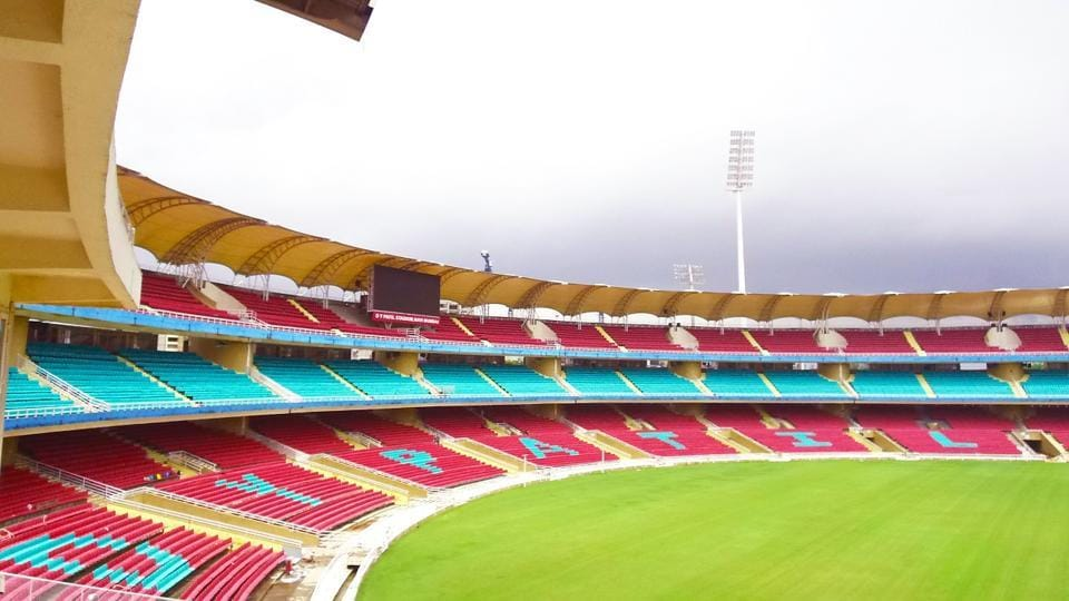 The DY Patil Stadium  in Mumbai (a major venue for the FIFA Under-17 World Cup) can seat 51,000 spectators, none of whom would have a restricted view because of the cantilevered gull wing roof.