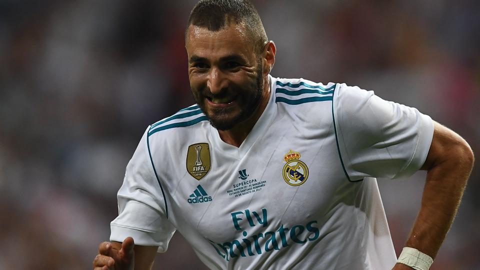 Real Madrid C.F.'s French forward Karim Benzema has won 14 trophies, including three Champions League and two La Liga titles, since joining from Lyon in 2009.