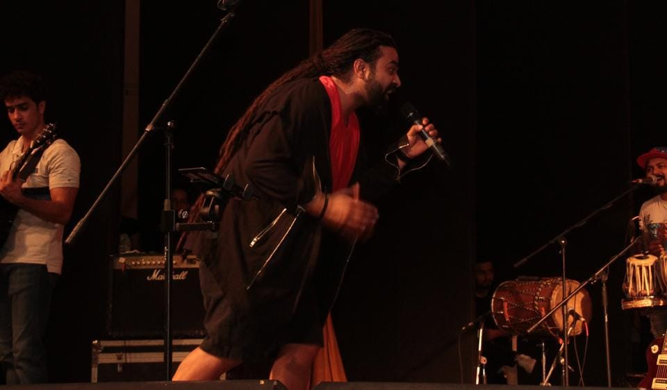 Delhi band Nasya performed at Lady Shri Ram College for Women on September 20.