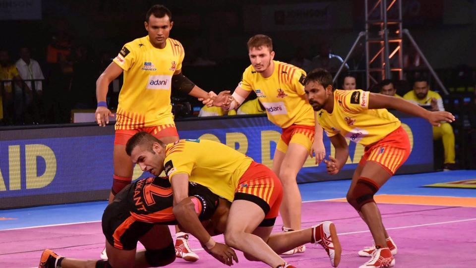 Pro Kabaddi League,Gujarat Fortunegiants,U Mumba