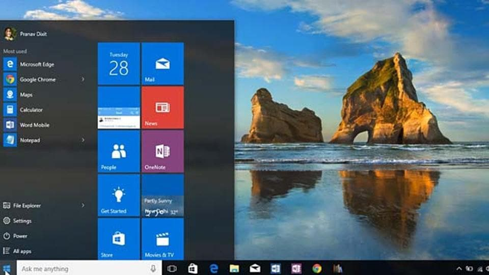 Next big update for Windows 10 is coming next month.