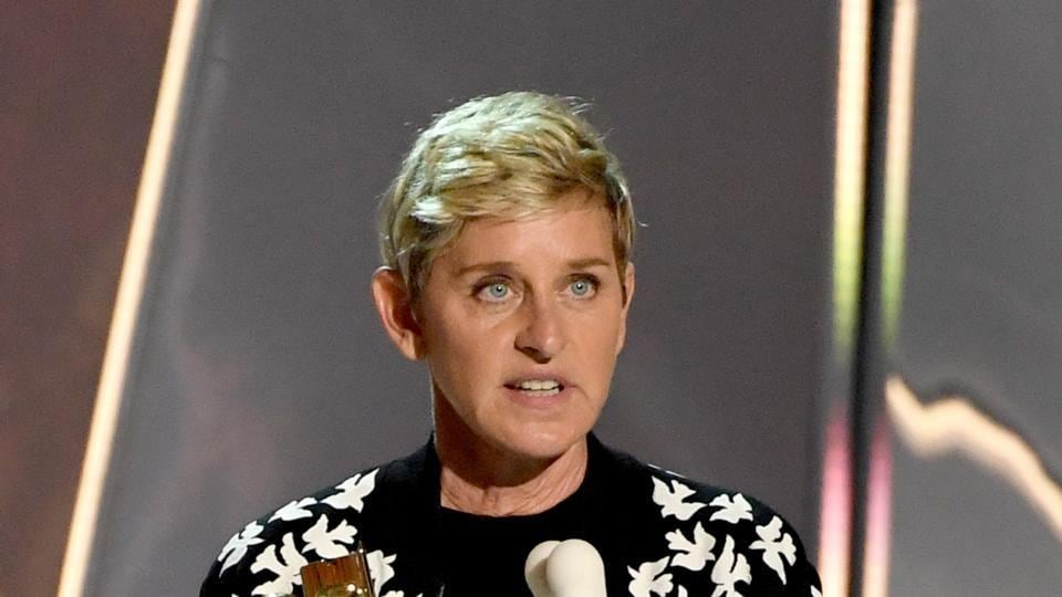 Ellen DeGeneres says she can't have someone who is dangerous to the country on her show.
