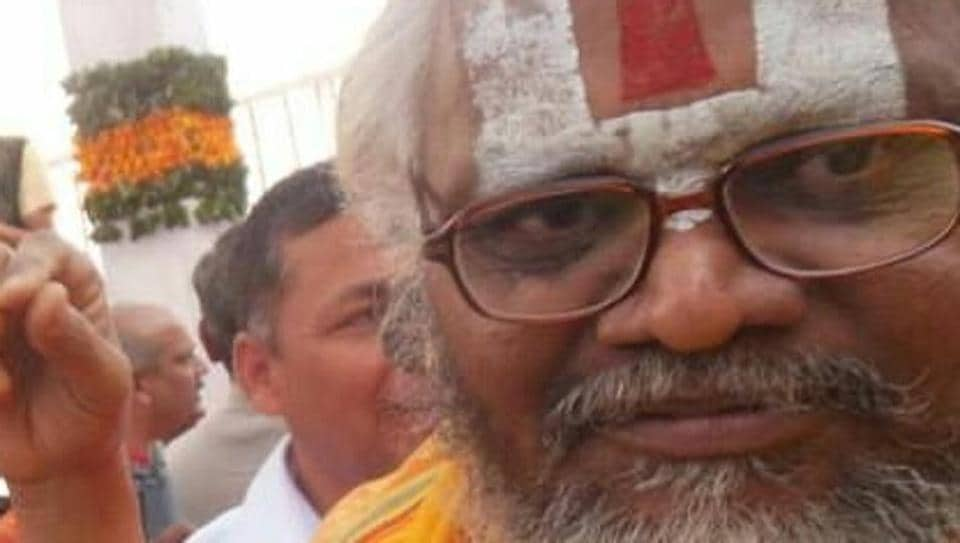 The incident had allegedly taken place at the ashram of Falahari maharaj in Alwar.