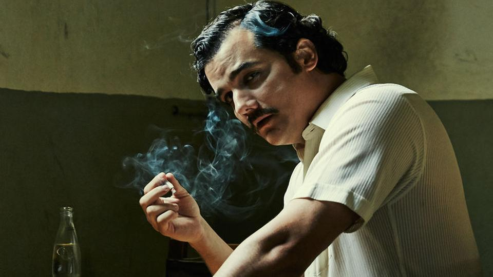 Pablo Emilio Escobar Gaviria, as played by Wagner Moura in Netflix's Narcos.