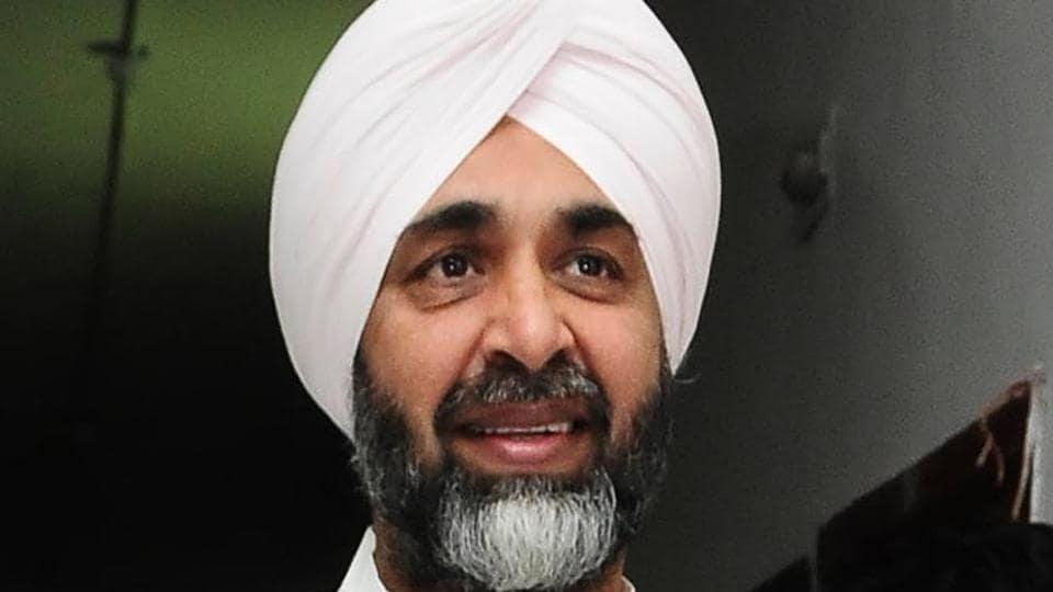 Punjab finance minister manpreet Singh Badal