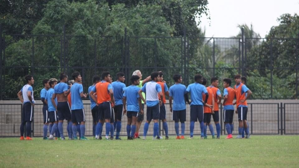 India's U-17 squad for the FIFAU-17 World Cup has been announced.