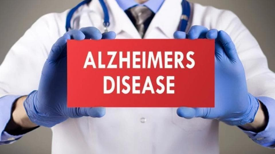 Alzheimer's disease causes progressive forgetfulness and loss of other brain functions due to abnormal deposition of proteins in the brain.