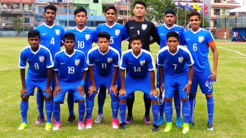 Indian U-16 football team are in good form after beating Palestine in their AFC U-16 qualifier.