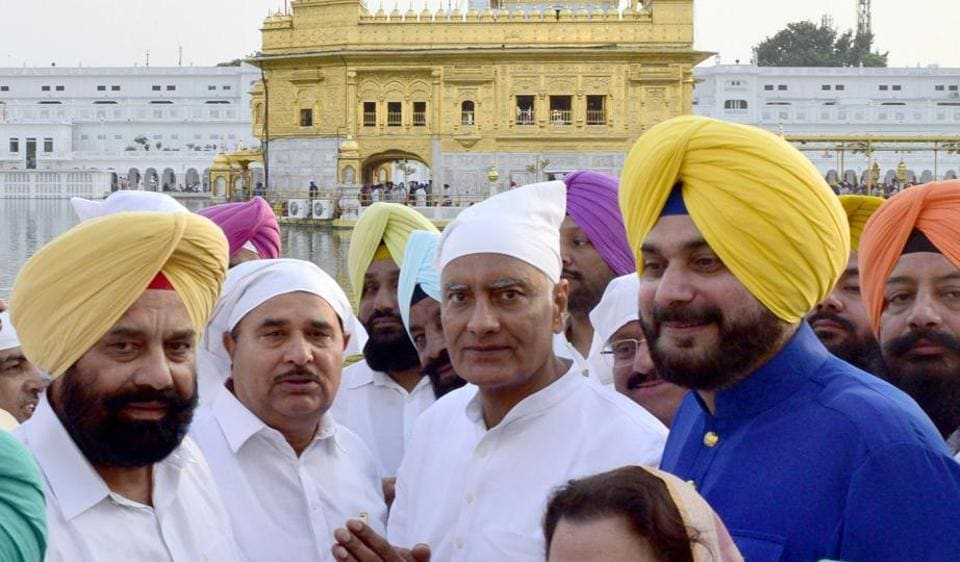 Before kicking off his election campaign, Jakhar, along with Punjab local bodies minister Navjot Singh Sidhu and Congress MLAs from Amritsar and Gurdaspur districts, visited the Golden Temple and Durgiana Temple to pay obeisance.