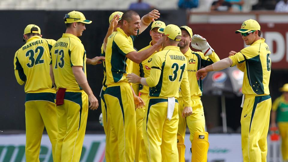 Nathan Coulter-Nile  got the big wicket of Rohit Sharma for 7. (BCCI)