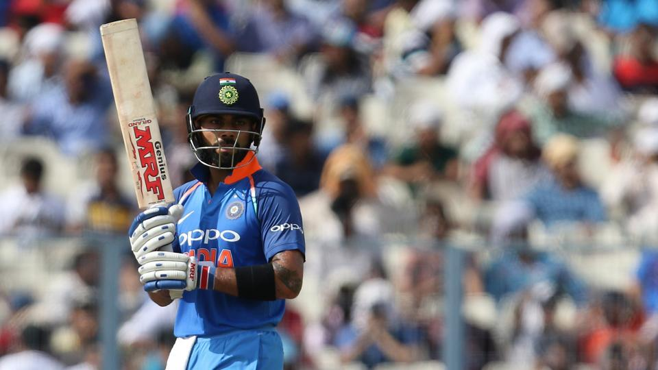 Virat Kohli shared a gritty partnership with Rahane as they steadied the Indian innings.  (BCCI)