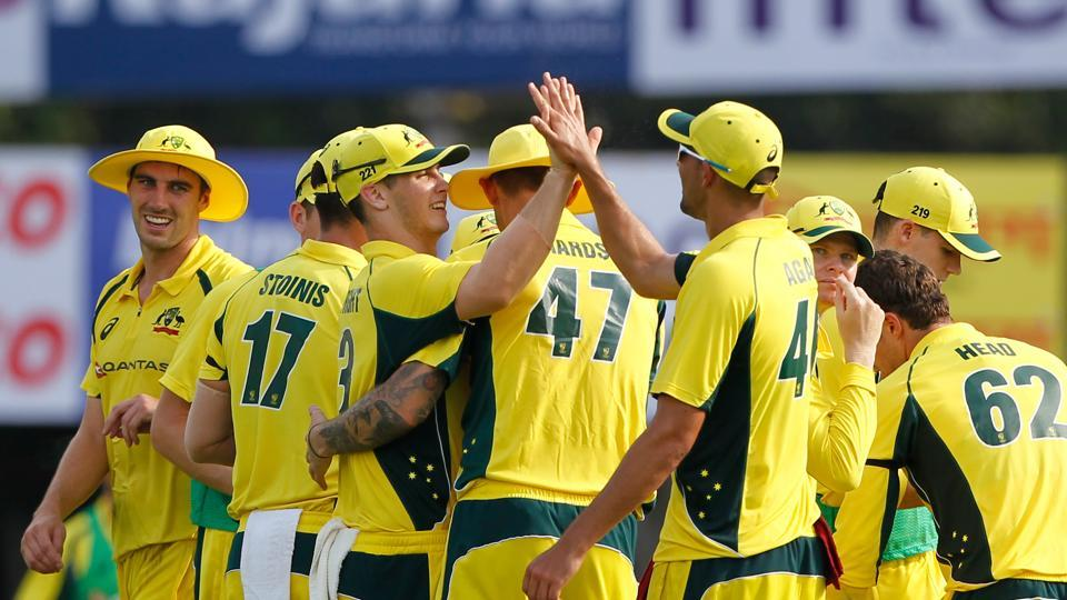 Australia picked up wickets on a consistent basis as India's progress was halted (BCCI)