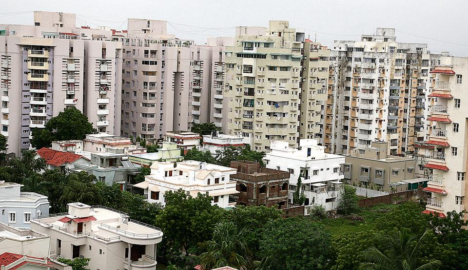 Ahmedabad (above), Jaipur and Coimbatore are among the cities that have witnessed significant real-estate growth in recent years.